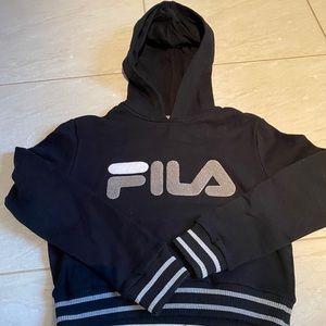 Fila almost crop hoodie new